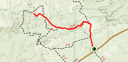 De-Na-Zin Section Trail Map