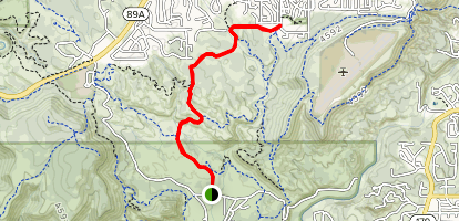 Old Post Trail Map