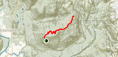Elfin Lakes (Diamondhead) Map