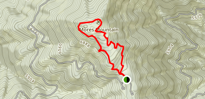 Mores Mountain Loop Map