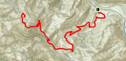 Slide Mountain Trail Map