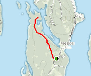 Birch Point Trail Map