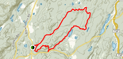 East Mountain Loop Trail Map