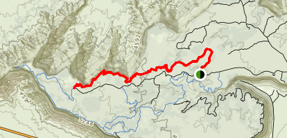 North Rim Trail Map