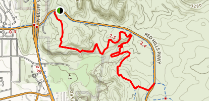 City Creek Trail Map