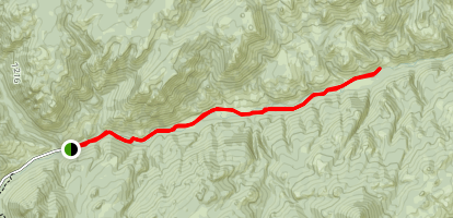LaBonte Canyon Map