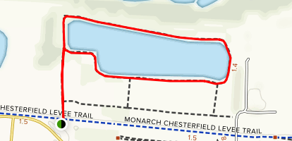 River's Edge Park Loop Map