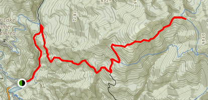 Old Trench Trail Map