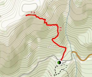 Eielson Alpine Trail Map