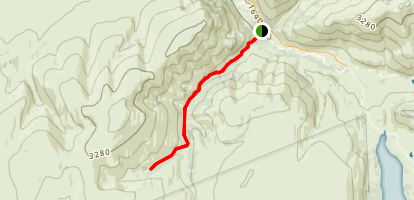Eldorado Creek Trail Map