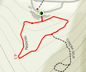 Tundra Loop Trail Map