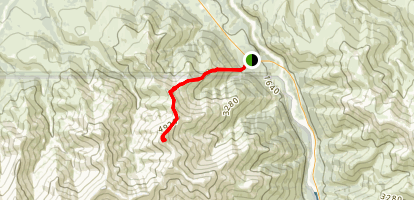 Bison Gulch Map