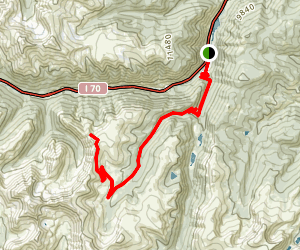 Ganley Mountain Via Guanella Pass Scenic Byway Map