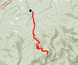 Mount Garfield Trail Map