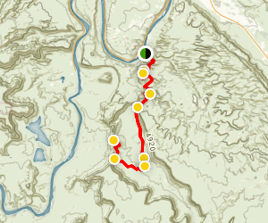 Hurrah Pass Map