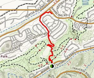 Spring Hollow Trail Map