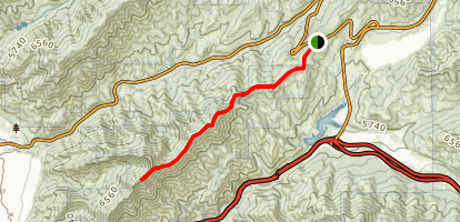 Emigration Canyon Ridgeline Trail Map