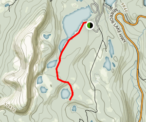 Haystack Lake Trail Map