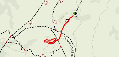 Hidden Forest and Arnold Ice Cave Trail Map