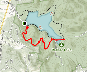 South Cove Trail Map