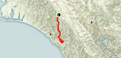 Bear Valley Trail to Glen Camp Loop Map