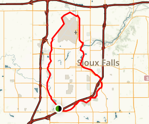Sioux Falls Bike Trail Loop South Dakota AllTrails