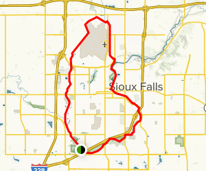 Sioux Falls Bike Trail Loop - South Dakota | AllTrails on edmunds county sd map, faulk county sd map, miner county sd map, brandon sd map, nebraska sd map, summerset sd map, mccook lake sd map, ree heights sd map, south dakota map, west river sd map, hecla sd map, bennett county sd map, spencer sd map, volin sd map, rapid city sd map, wessington springs sd map, jamestown sd map, moorhead sd map, desmet sd map, iron mountain sd map,