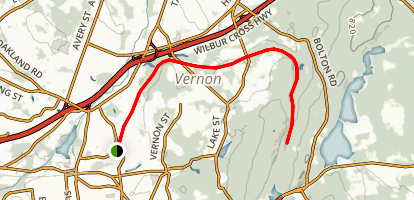 Vernon Trail - Rockville Spur Map