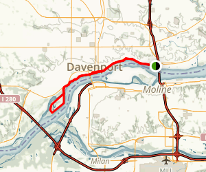 Riverfront Trail Map
