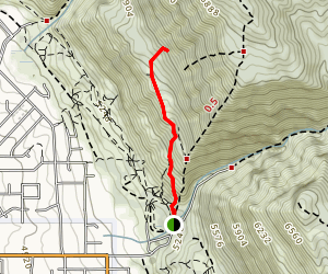 """The """"G"""" Hike Map"""