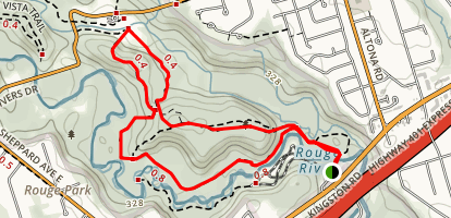 Mast Trail Map
