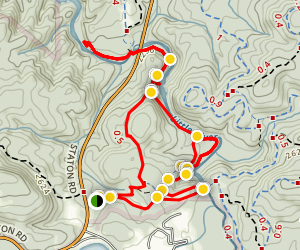 High Falls and Triple Falls Tour  Map