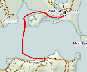 Hawks Nest to Nelson Bay Map