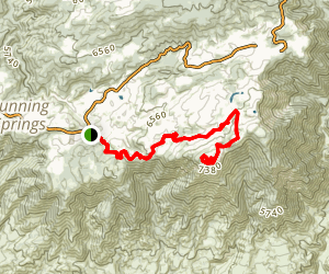 Keller Peak Map
