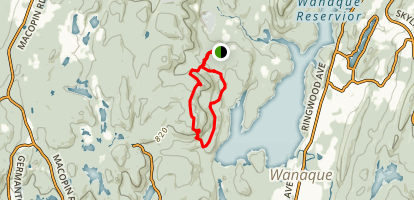 Carris Hill Loop Map