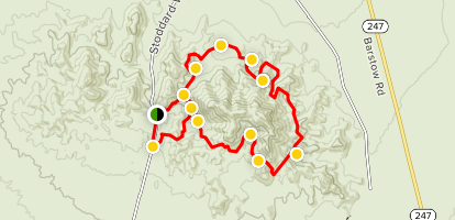 Achy-Breaky 4x4 Trail Map