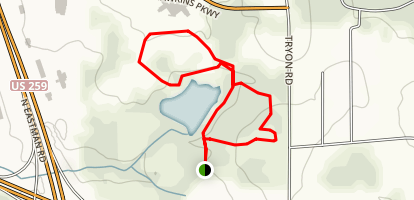 Williams Lake Loop Map