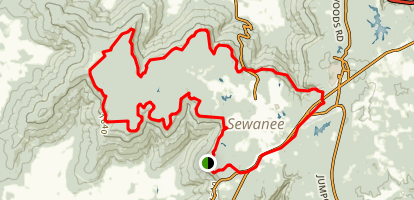 Sewanee Perimeter Trail Map