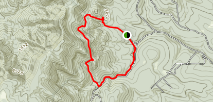 Fourth of July Trail Map