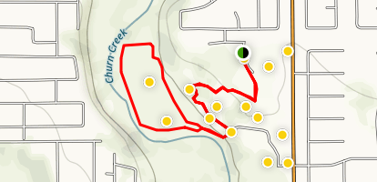 Enterprise Community Park Loop Trail Map