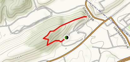 Bluefield College Nature Trail Map
