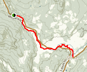 Stowe Recreation Path Map