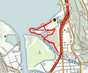 Cayuga Lake Inlet Trail Map