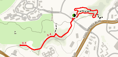 Aspen Grove Park Loop Map