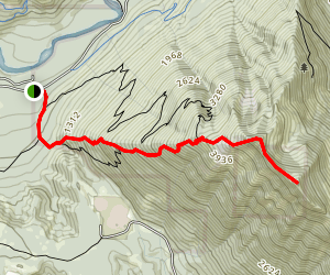 Dirtybox Peak Map