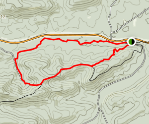 Big Brushy Loop Trail Map