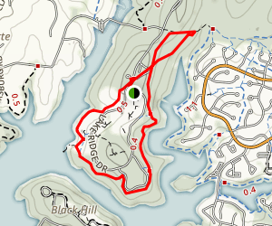 Black Hill Trail Loop Map