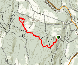 Appalachian Trail: Norwich Map
