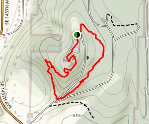 Scouters Mountain Trail Map