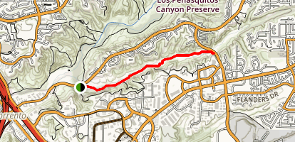 Lopez Canyon Trail Map